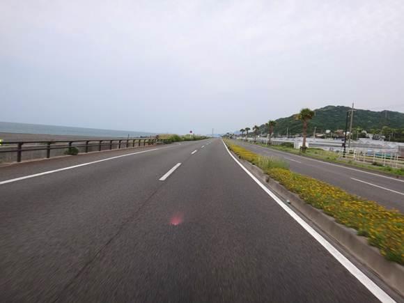 3 久能山の前を通過.JPG